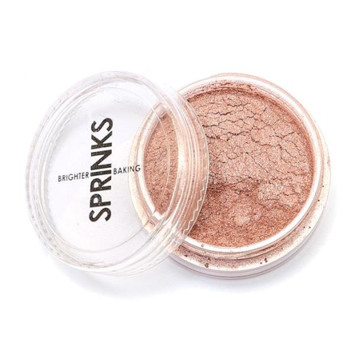 Metallic Edible Lustre Dust SPRINKS - ROSE GOLD