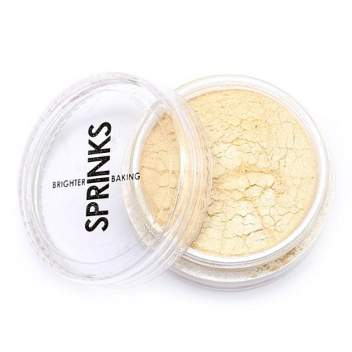 Metallic Edible Lustre Dust SPRINKS - CHAMPAGNE