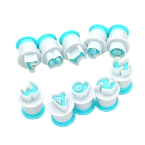 Plunger Cutter Set - NUMBERS