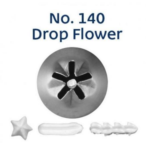 Piping Tip Closed Star (Drop Flower) - No.140
