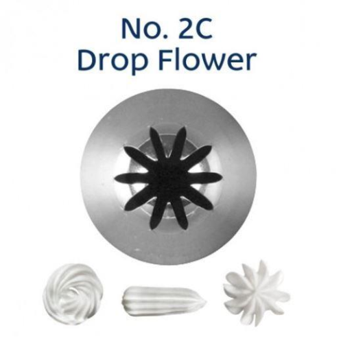 Piping Tip Closed Star (Drop Flower) - 2C