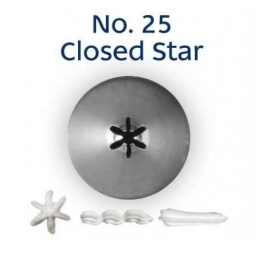 LOYAL NO. 25 CLOSED STAR STANDARD TUBE