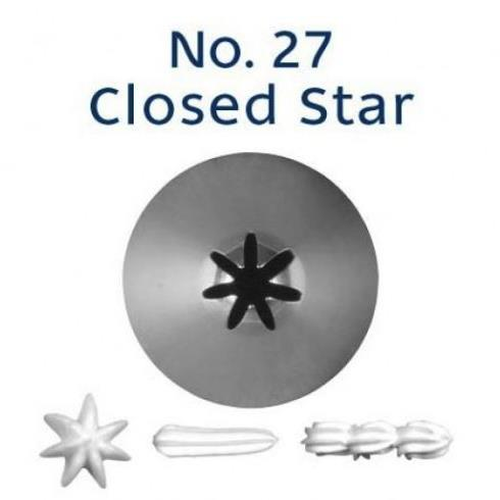 Piping Tip Closed Star (Drop Flower) - NO.27
