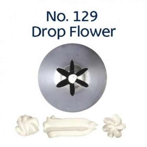 Piping Tip Closed Star (Drop Flower) - NO.129