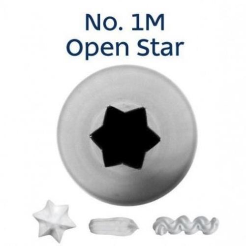 Piping Tip Open Star - 1M