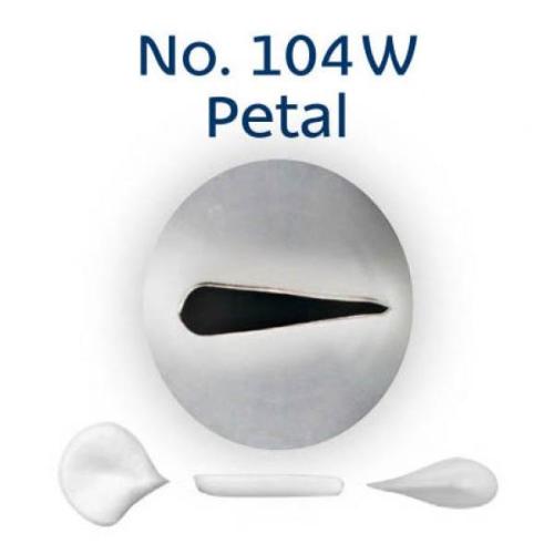 Piping Tip Rose / Petal - No.104W