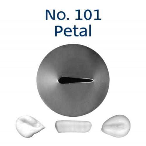 Piping Tip Rose / Petal - No.101