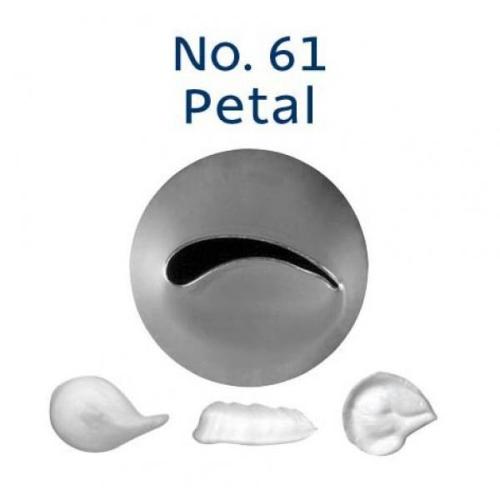 Piping Tip Rose / Petal - No.61