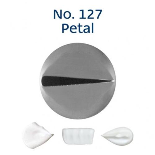 Piping Tip Rose / Petal - No.127