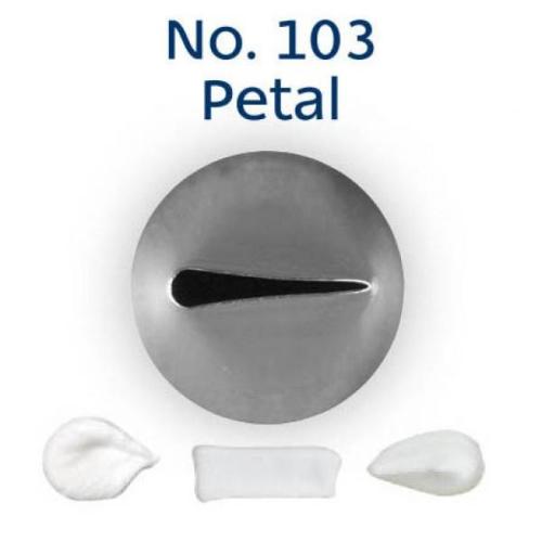 Piping Tip Rose / Petal - No.103