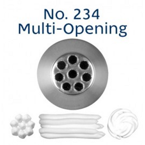 Piping Tip Specialty - No.234 Multi Opening