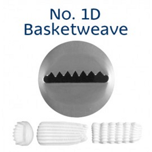 Piping Tip Specialty - No.1D Basketweave