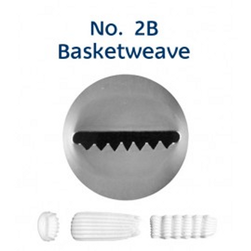 Piping Tip Specialty - No.2B Basketweave