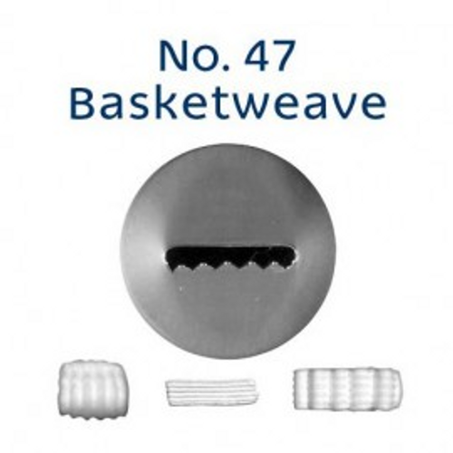 Piping Tip Specialty - No.47 Basketweave