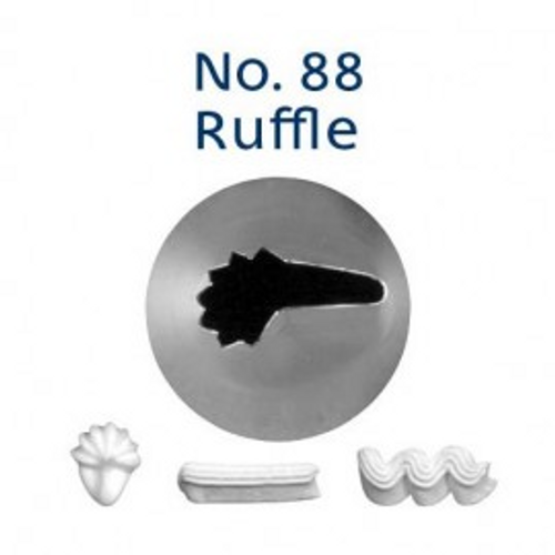 Piping Tip Specialty - No.88 Ruffle