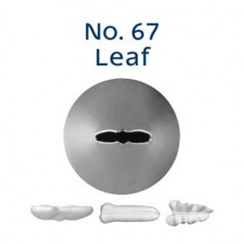 Piping Tip Leaf - No.67