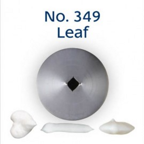 Piping Tip Leaf - No.349