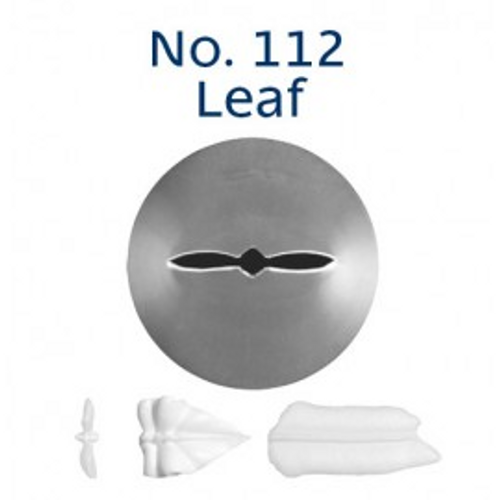 Piping Tip Leaf - No.112