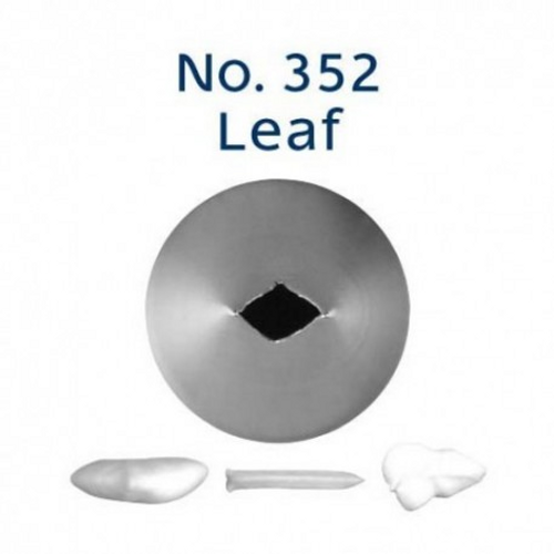 Piping Tip Leaf - No.352