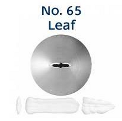 Piping Tip Leaf - No.65