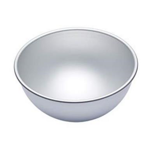 "Cake Tin Novelty - 4"" HEMISPHERE"