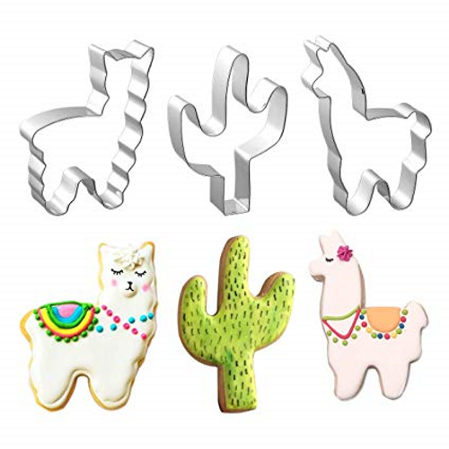 Stainless Steel Cutter Set - LLAMAS & CACTUS