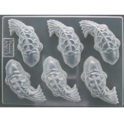 Chocolate & Gumpaste Mold - Fish (6pc)