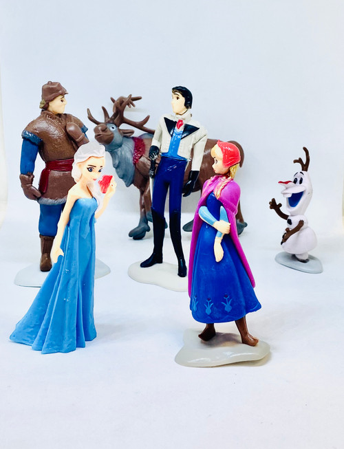 Cake Topper 6pc - FROZEN