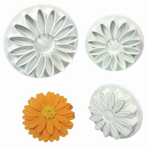 Plunger Cutter Set 3pc - DAISY / GERBERA