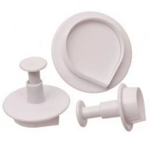 Plunger Cutter Set 3pc - ROSE PETALS