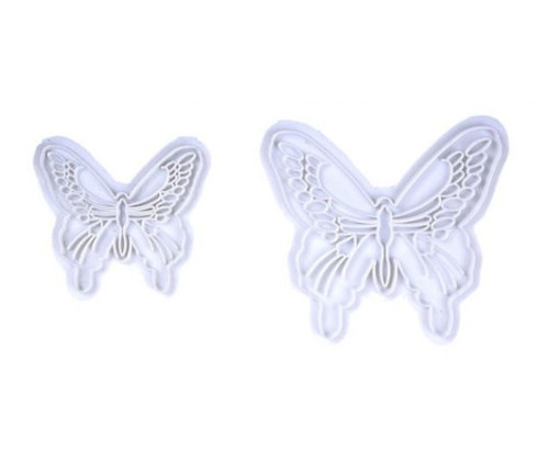 Impression Stamp 2pc - BUTTERFLY