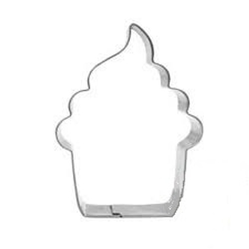 Tin Plate Cutter -  FROSTED CUPCAKE