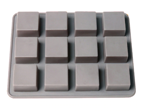 Square Silicone Mould 12 Cavity