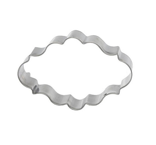 Tin Plate Cutter -  OVAL PLAQUE