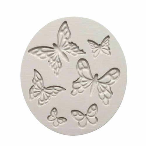 Silicone Mold 6pc - BUTTERFLIES