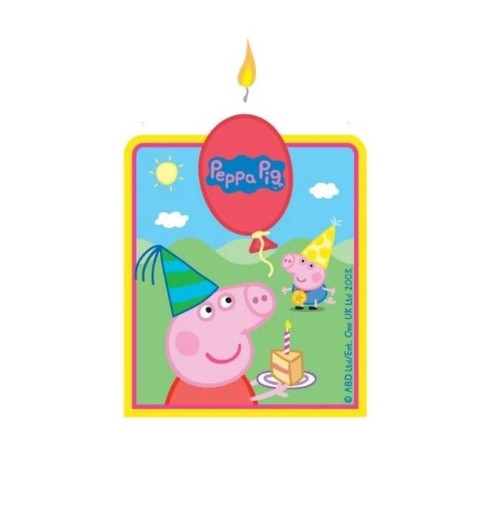 Birthday Candle - Peppa Pig