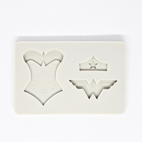 Silicone Mold - Wonder Woman 3pc