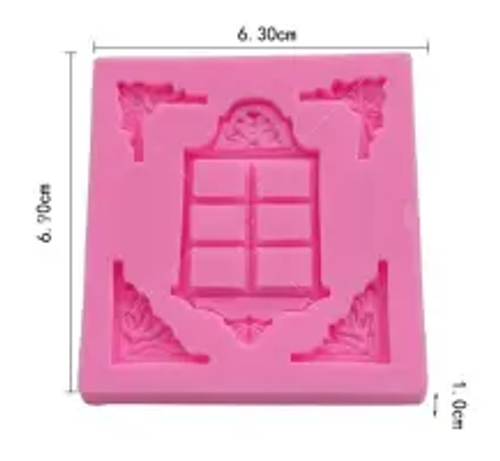 Silicone Mould - ORNATE WINDOW