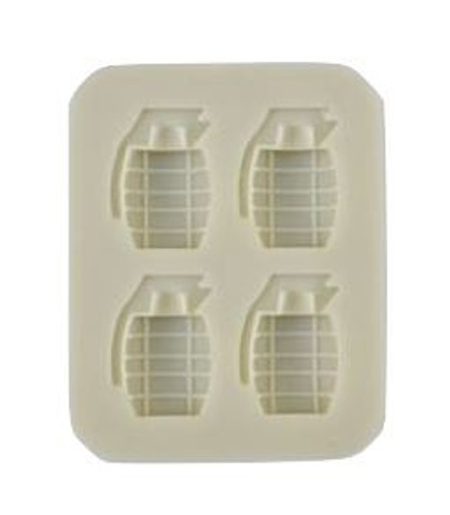Silicone Mold - Grenade 4pc