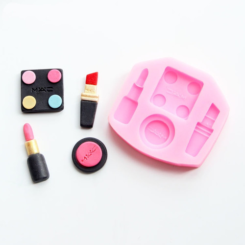 Silicone Mold 4pc -MAKEUP