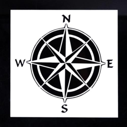 Small Stencil - Compass