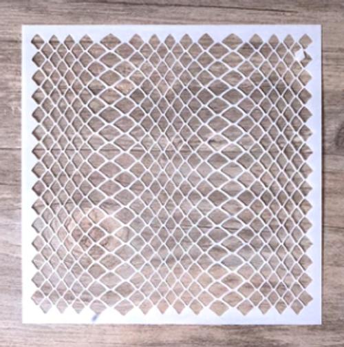Snake Skin Stencil