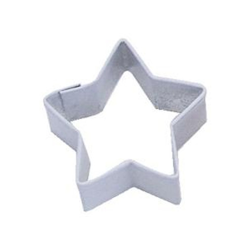 Tin Plate Cutter - 6 Point Star - White