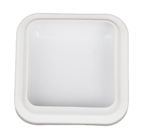 Silicone Mold - Medium Polished Square