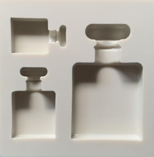 Silicone Mold - Perfume Bottles