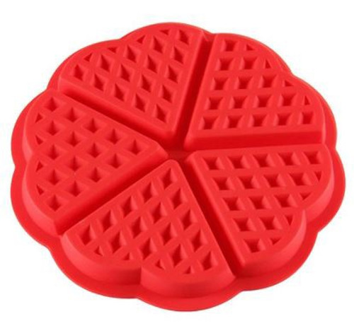 Silicone Mold - Waffle Triangles