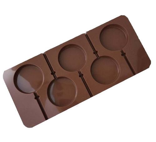 Silicone Mold 5pc - Lollipop
