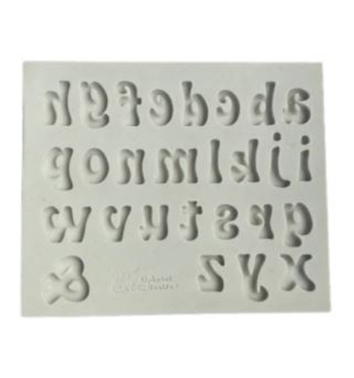 Silicone Mold - Funky Alphabet Lowercase