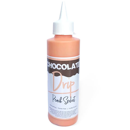 Chocolate Drip- PEACH SORBET