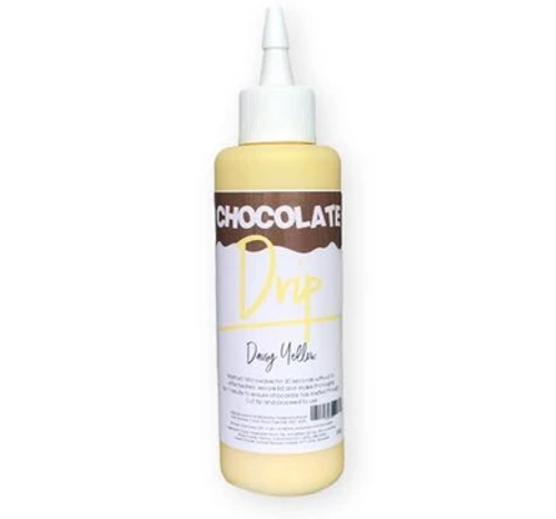 Chocolate Drip- DAISY YELLOW